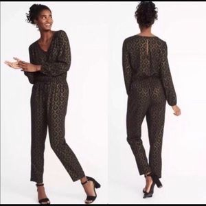 Old Navy Long Sleeve Jumpsuit, L